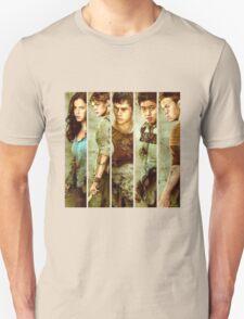 teresa, thomas, newt,minho,gally the maze runner the sorch trials T-Shirt