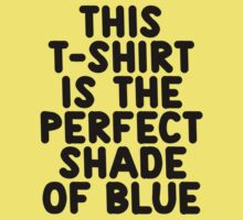 This t-shirt is the perfect shade of blue Kids Clothes