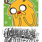 Merry Christmas Jake Adventure time by BennH