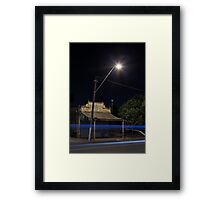 Passing in the Night Framed Print