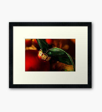Christmas Warmth Framed Print