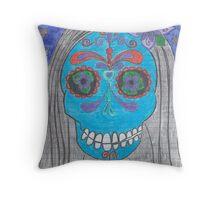 El Dia De Los Muertos Throw Pillow