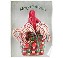 Christmas Basket Poster