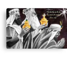 ♚ ☆ Gaspar, Melchior, and Balthasar,The Three Wise Men  ☆♚ Canvas Print