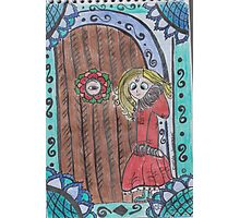 Knocking on Abner's Door Photographic Print
