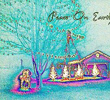 Peace On Earth Holiday Scene by allthingsnatura