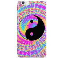 Tie Dye Psychedelic Yin Yang iPhone Case/Skin