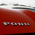 Ford classic car badge by Paul Boyle