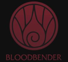 Bloodbender (with text) Kids Clothes
