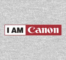 I AM CANON - Camera Shirt One Piece - Short Sleeve
