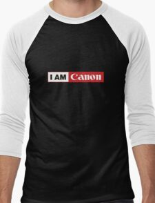 I AM CANON - Camera Shirt Men's Baseball ¾ T-Shirt