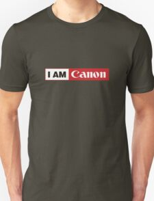 I AM CANON - Camera Shirt T-Shirt
