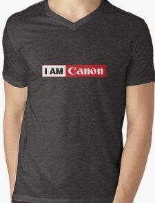 I AM CANON - Camera Shirt Mens V-Neck T-Shirt