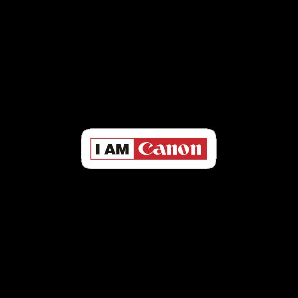I AM CANON - Camera Shirt by aditmawar