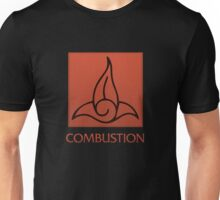Combustion (with text) Unisex T-Shirt