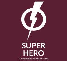 """""""Super"""" Hero Logo - Dark Background by powertrials"""