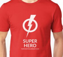 """Super"" Hero Logo - Dark Background Unisex T-Shirt"