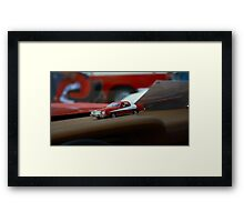 Toy Car Muslce starsky and hutch Framed Print