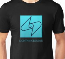 Lightningbender (with text) Unisex T-Shirt