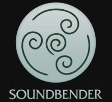 Soundbender (with text) T-Shirt