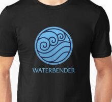 Waterbender (with text) Unisex T-Shirt