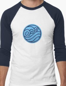Waterbender Men's Baseball ¾ T-Shirt