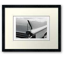 Cadillac Tail Framed Print