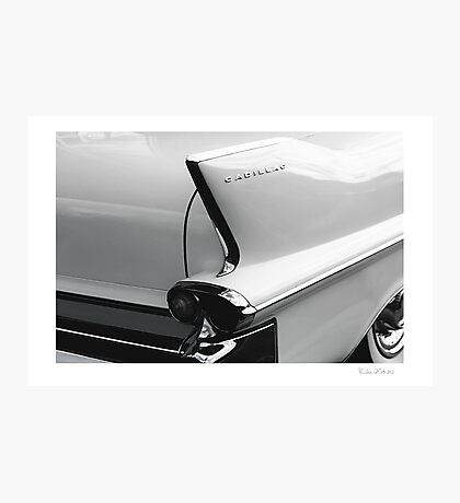 Cadillac Tail Photographic Print