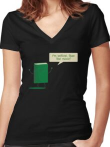 Better than the Movie Women's Fitted V-Neck T-Shirt