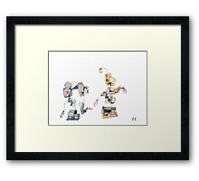 Past Selves Framed Print