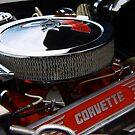 Corvette engine by Paul Boyle