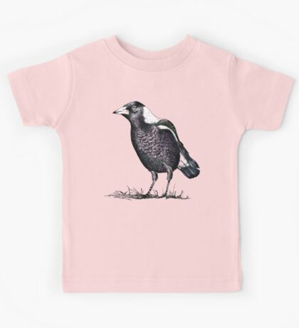 Magpie - Dedicated to family Kids Tee