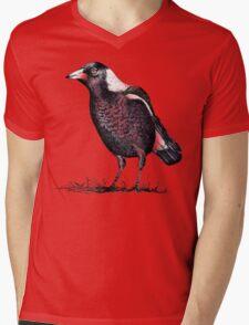 Magpie - Dedicated to family Mens V-Neck T-Shirt