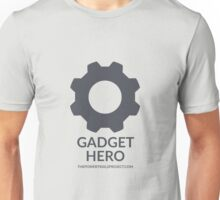 """Gadget"" Hero Logo - Light Background Unisex T-Shirt"