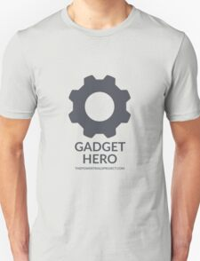 """Gadget"" Hero Logo - Light Background T-Shirt"