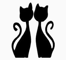 Groovy Siamese Cats Unisex T-Shirt