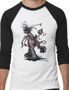 Lady Crawley Men's Baseball ¾ T-Shirt