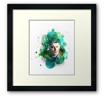 Dean Winchester Lost In The Wilderness Framed Print