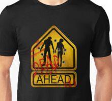 """Caution """"Dead Ahead"""" Unisex T-Shirt"""