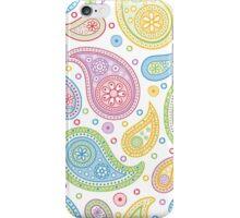 Rainbow Paisley iPhone Case/Skin