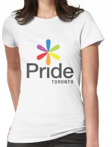 Pride Toronto Womens Fitted T-Shirt