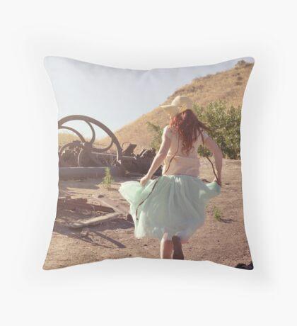 A Far Off Place Throw Pillow