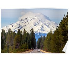 Mount Shasta 14,179 Feet Poster