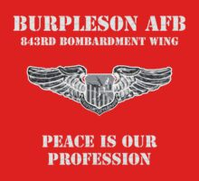Burpleson AFB - Peace is our Profession Kids Clothes