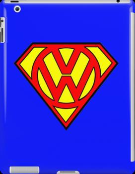 Superbug iPad by Kezzarama