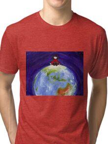 Clara Takes on the World Tri-blend T-Shirt