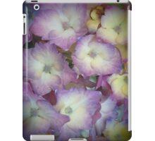 Purple And Yellow Hydrangeas iPad Case/Skin