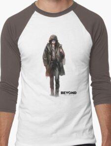 beyond two souls Men's Baseball ¾ T-Shirt