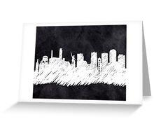 Landmark Skyline - Birmingham Alabama Greeting Card