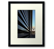 Modernism Tries to Make Us Small Framed Print